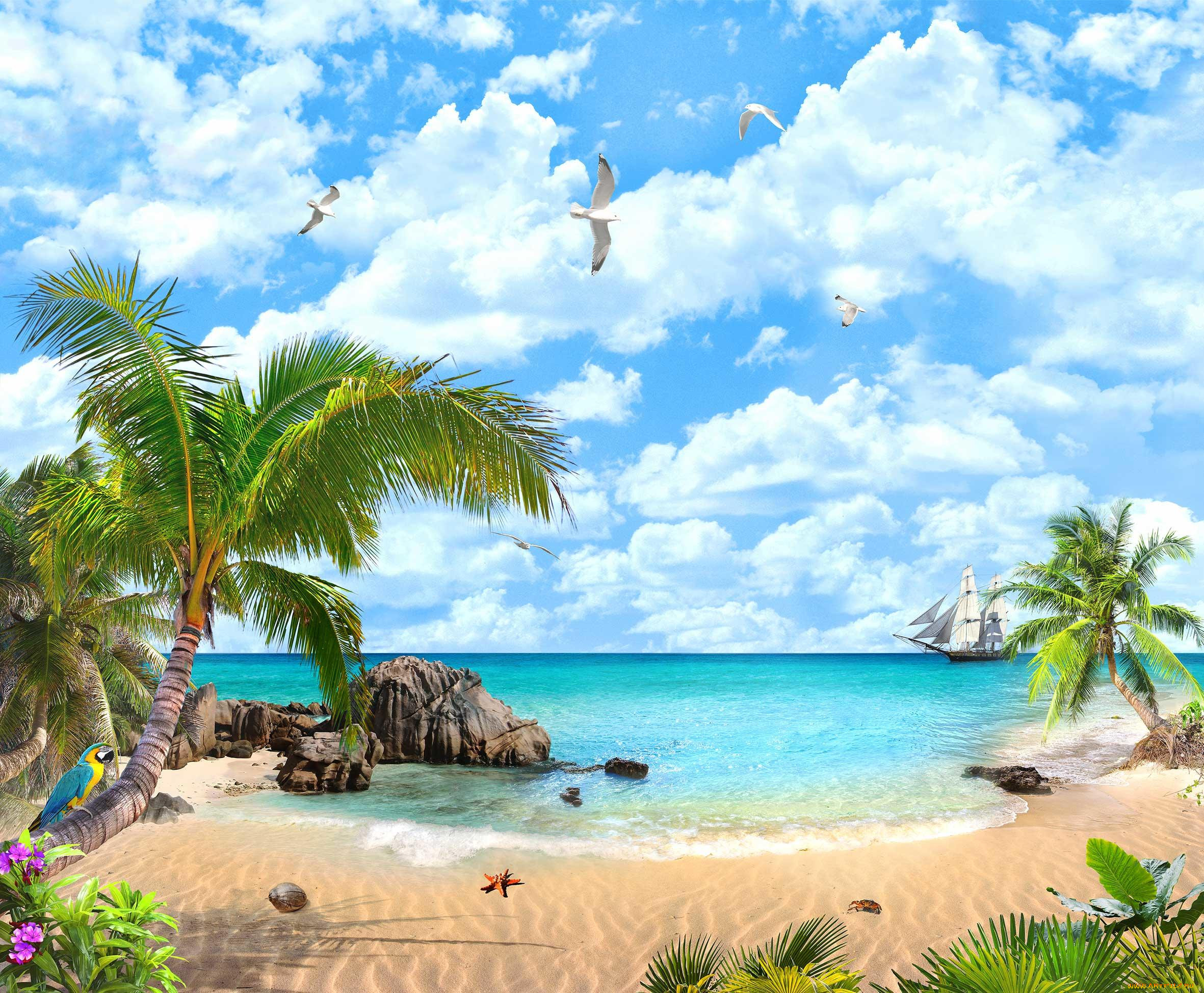 открытки море солнце пляж кипр пожалуй, один самых